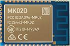 MK02D nRF52832 Bluetooth Module With High-performance PCB Antenna