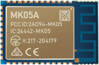 MK05A nRF52810 Bluetooth Module With High-performance PCB Antenna