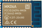 MK06A nRF52811 Blutooth Module With High-performance PCB Antenna