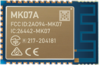 MK07A nRF52833 Bluetooth Module With High-performance PCB Antenna