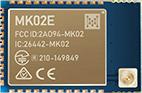 MK02E nRF52832 Bluetooth Module With a u.FL connector