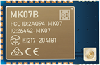 MK07B nRF52833 Bluetooth Module With a u.FL connector