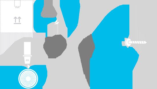 Optional installation design of H2 Navigation Beacon