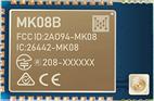 MK08B nRF52840 Bluetooth Module With a u.FL connector