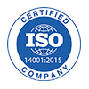 ISO14001:2015 Certificate Icon