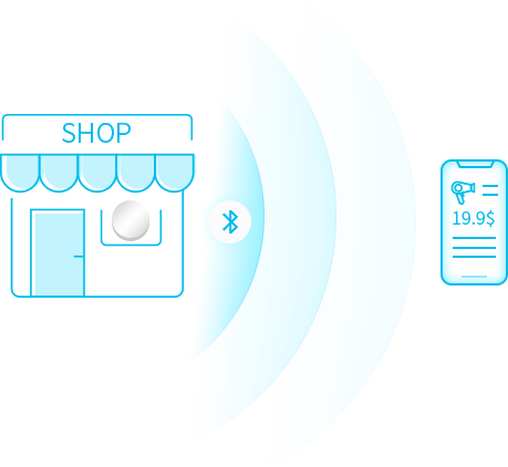 M1 Beacon Application for Proximity Marketing System