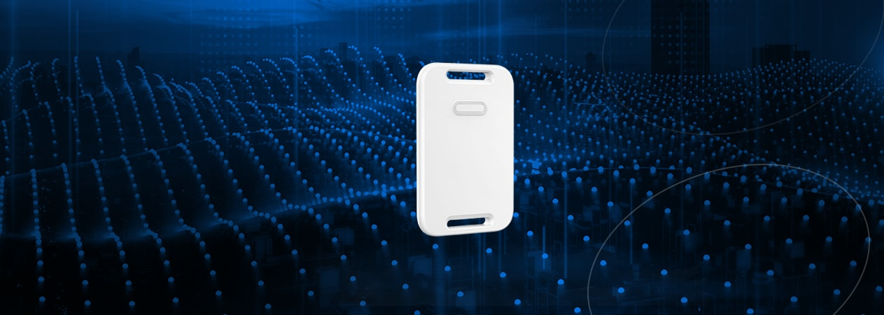 The Video of H5 RFID Beacon Tag