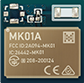 MK01A nRF52832 Blutooth Module