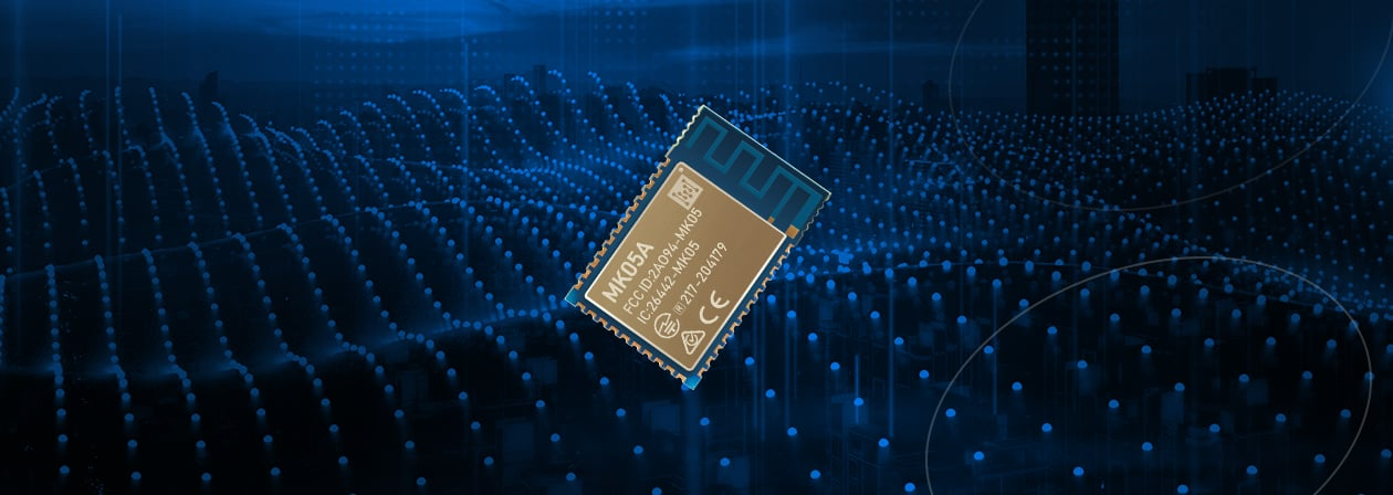 The Video Background of MK05 nRF52810 Blutooth Module