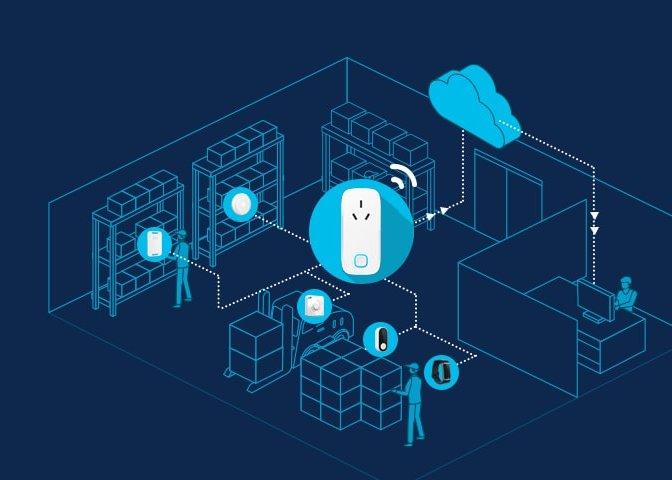 The Application of MK106 Bluetooth Gateway for Intelligent Asset Management