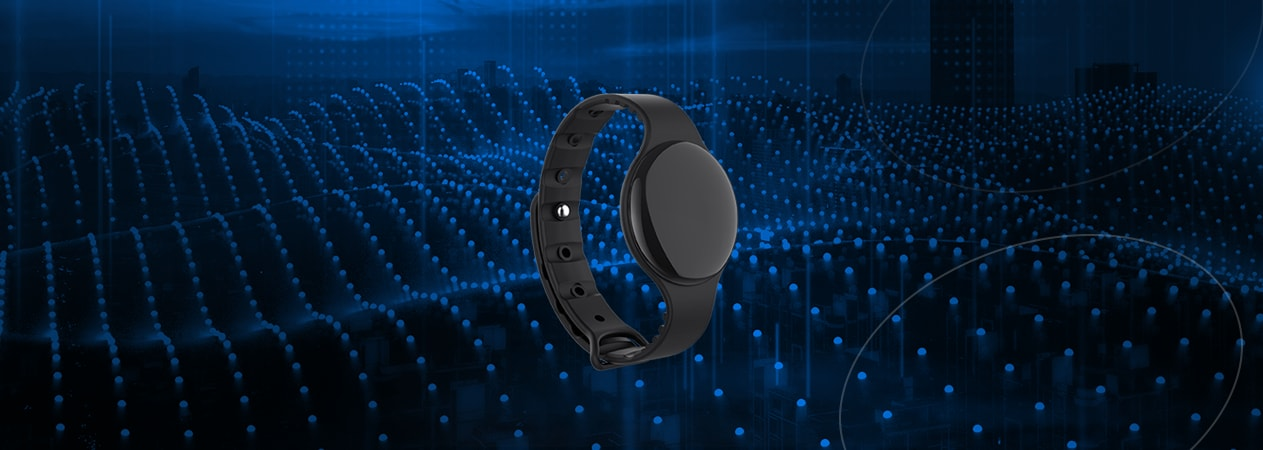 The Video of W1 Wearable Beacon