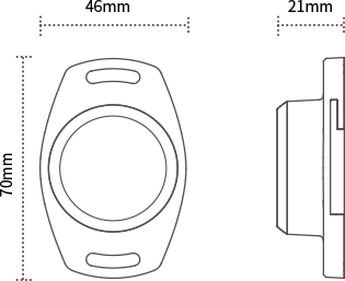 Size of M2 asset beacon